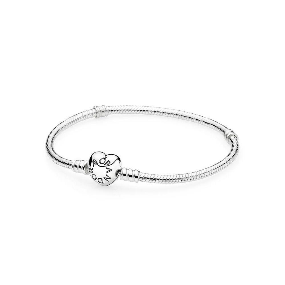 e469a553d43 Bracelete Com Fecho Coração - 590719 - pandorajoias