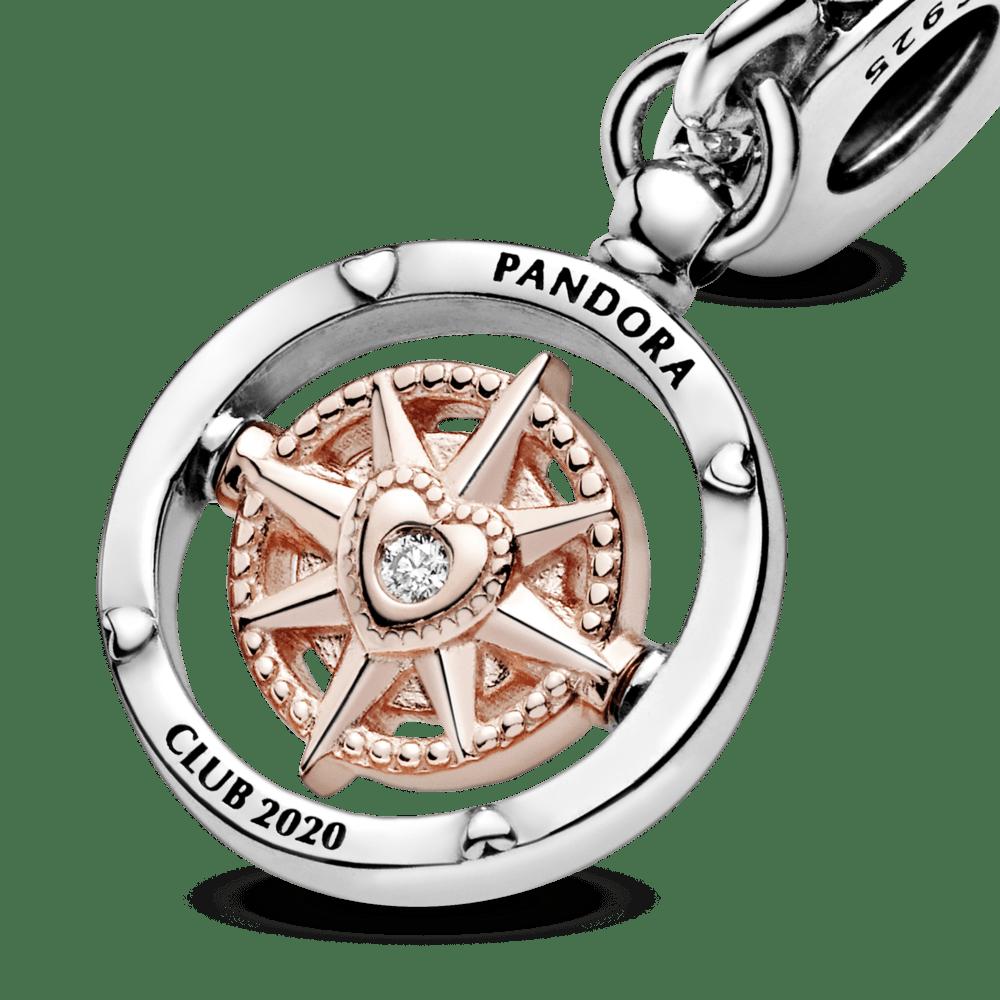 Pandora Club Charm 2020 - Siga Seu Coração - 788590C01 - pandorajoias