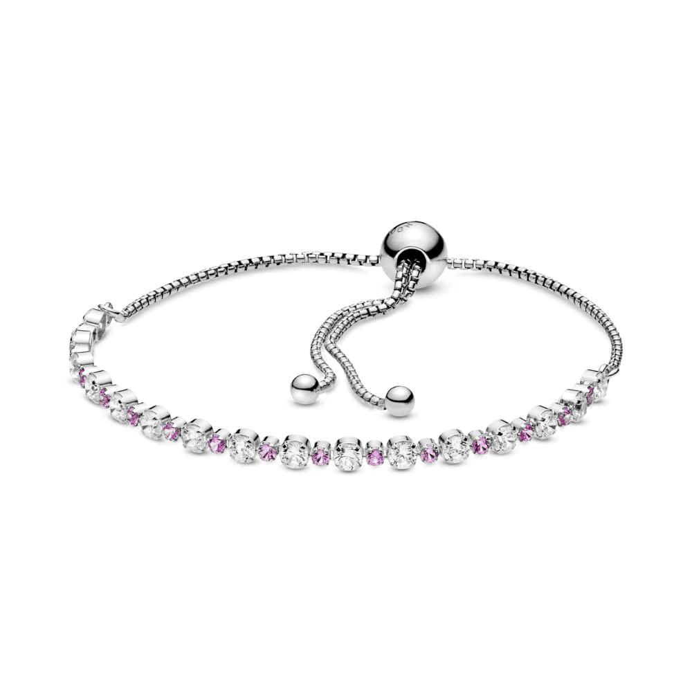 Bracelete Riviera assimétrico - Pandora