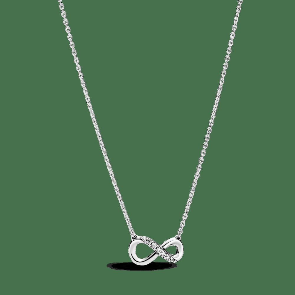 Colar Infinito brilhante - Pandora