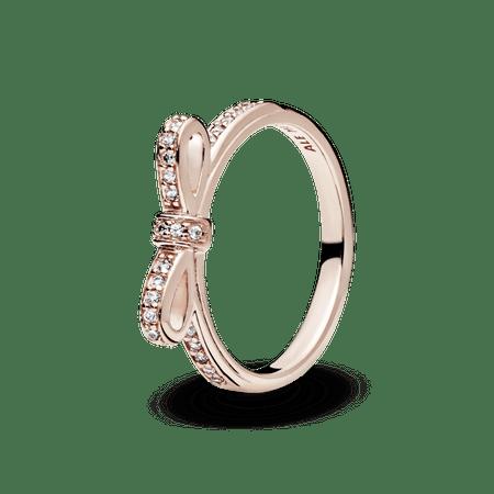 Anel Rosê Laço - 50